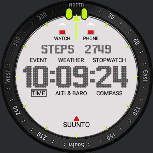 Suunto Core White No Dim