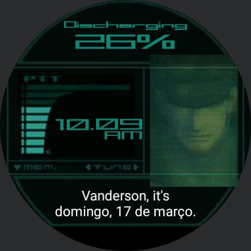 MGS2 Snake Codec Vanderson