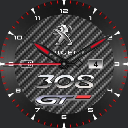 peugeot 308 GT carbon ring