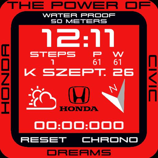 Honda Civic retro watch Copy v2