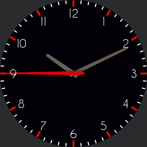 Analog Purple Watch Copy