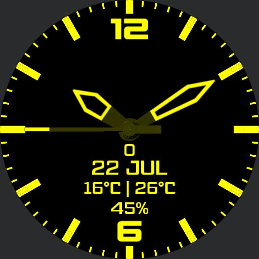 Rotating Data Yellow