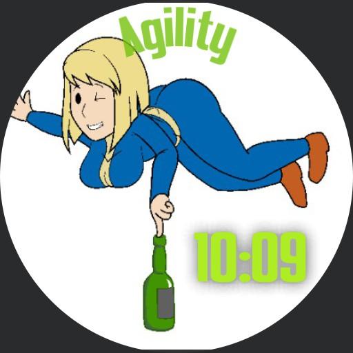 Agility fallout girl