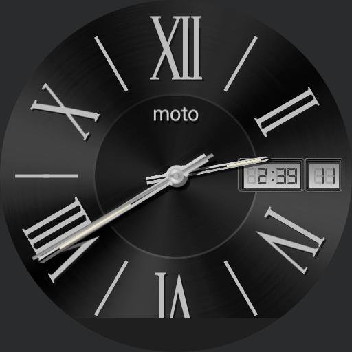 Moto Roman Black