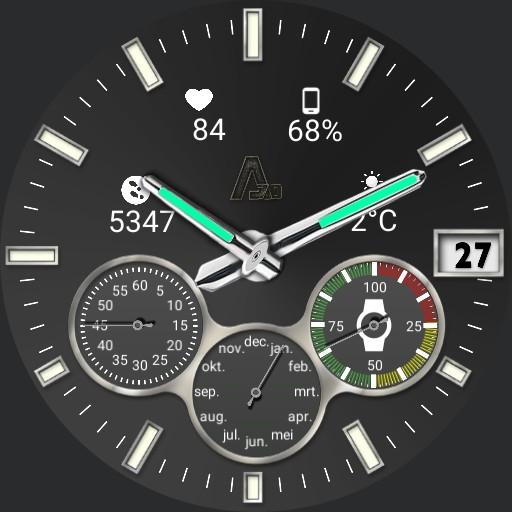 A-70  X Watch Analog/Digital