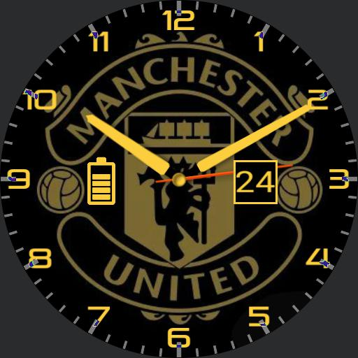 Manchester United Black and Gold