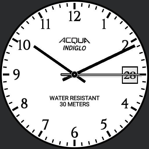 Timex Acqua Indiglo P6