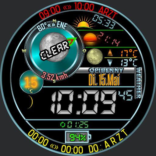 Opibenny weatherwatch Backup