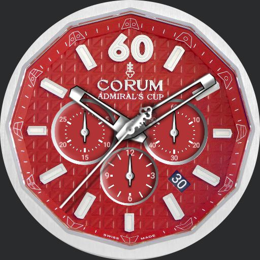 Corum Admirals Cup AC-One 45 Red