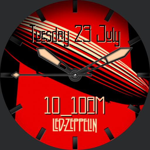 Led Zeppelin black and red