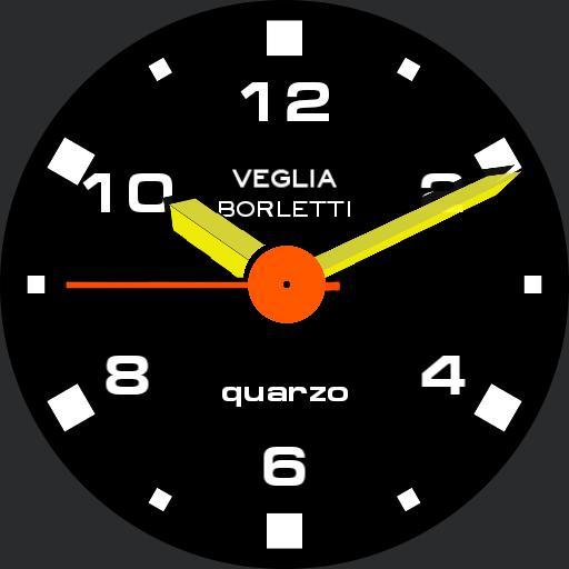 Ferrari 328 GTS Dashboard Clock