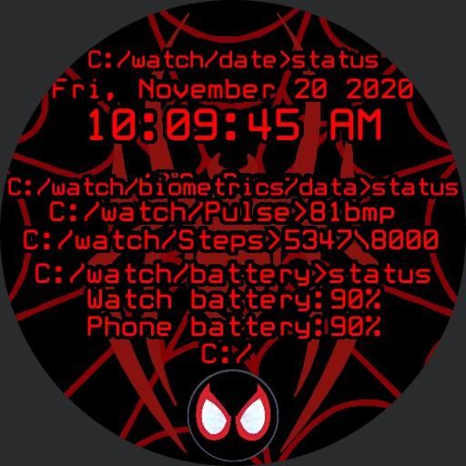 Spidey Miles Morales Computer Terminal