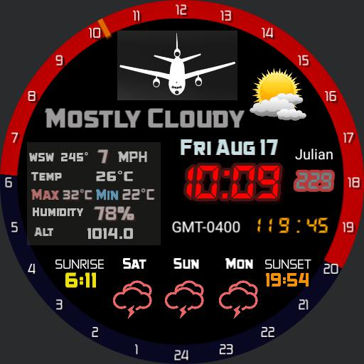 2ARS Pilot watch