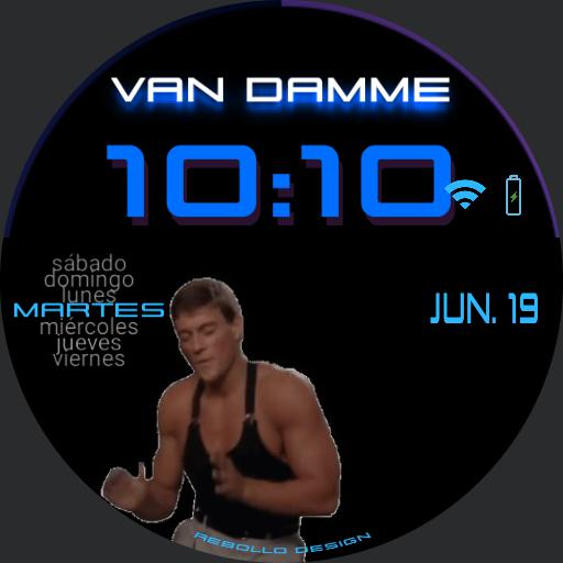 The Van Damme Wacht Copy