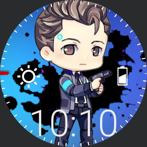 Connor Detroit Become Human Chibi