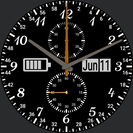 Modern Working Mans Pockit Watch