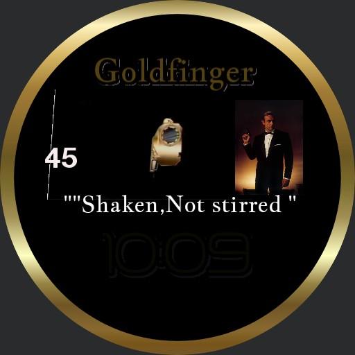 007 SHAKEN not STIRRED