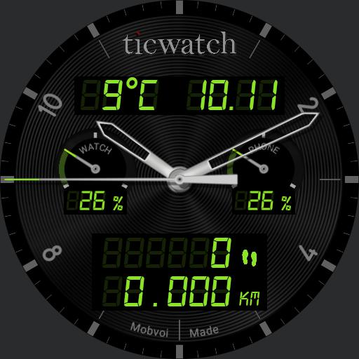 Ticwatch W2 MultiColor