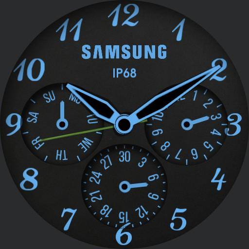 Analog Samsung Watch English