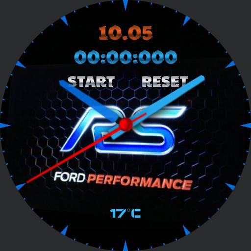 Bleu Ford Performance - WatchMaker Watch Faces