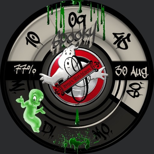 Ghostbusters Spooky Animation Launcher