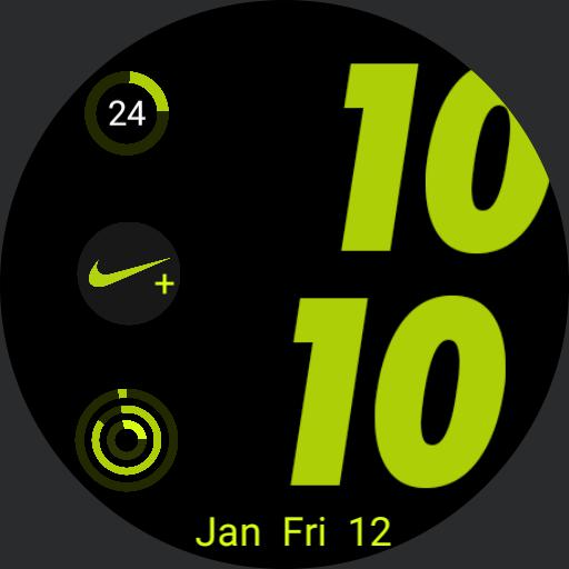 apple watch face type Nike sports Copy