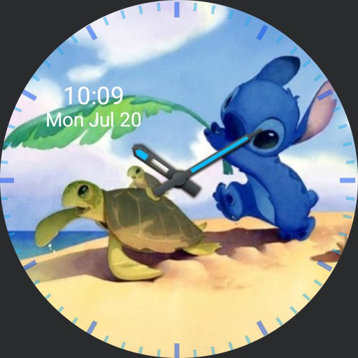 Stitch with Turtles