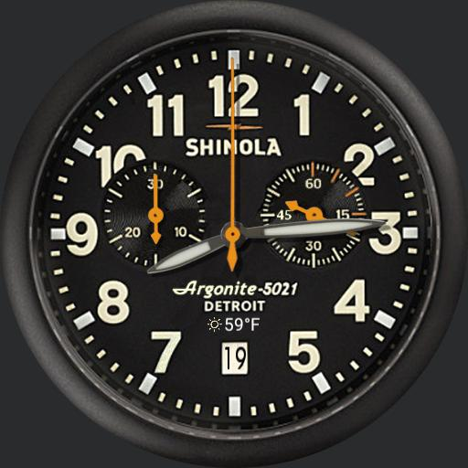 Shinola Runwell Chronograph weather