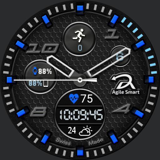 Agile smart ver. 3 blue