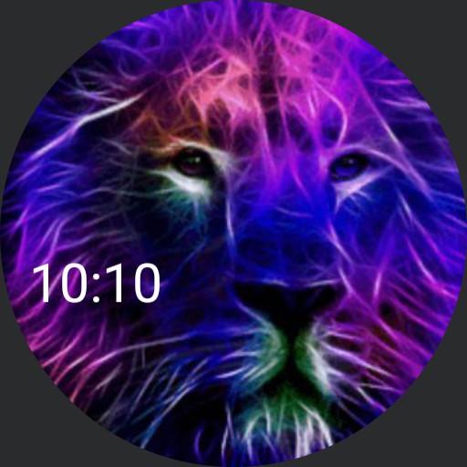 Flaming Purple Lion- plwren Copy