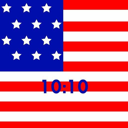 USA Flag Watch Face