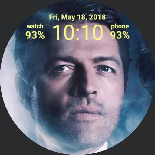 Supernatural Castiel digital