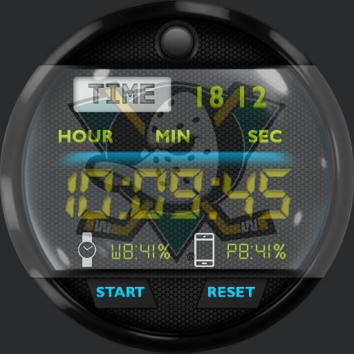 mighty ducks digi watch without compass or map
