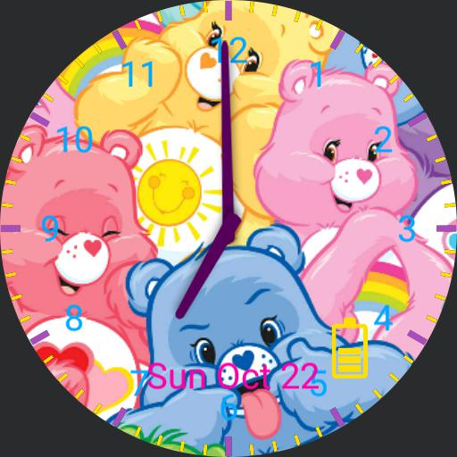 Care bears watch face