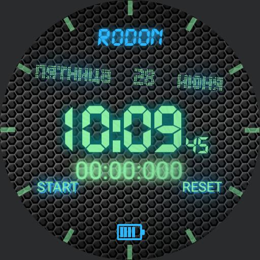 RODONS DIGITAL WATCH
