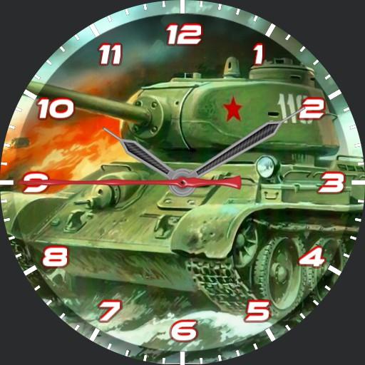 T34 Tank Watch 1.00