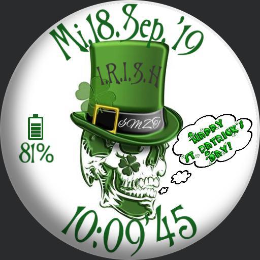 St.Patricks Day Scull  1
