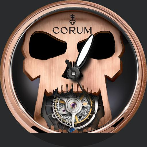 Corum Bubble Skull Tourbillion v1