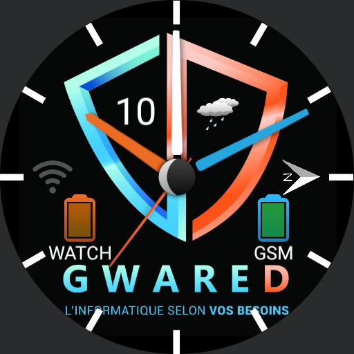 GWARED  WATCH Noir