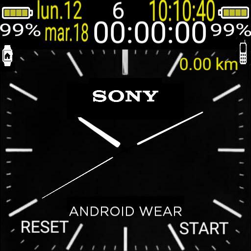 Sony clasico  cuenta pasos cronmetro 2