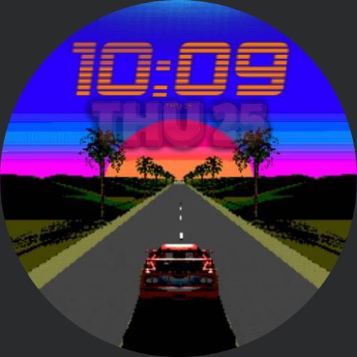 Retro Future Animated Watch Copy