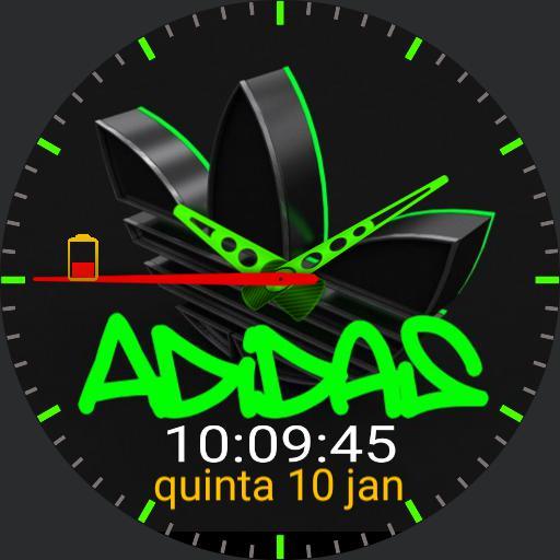 Adidas analogic and digital