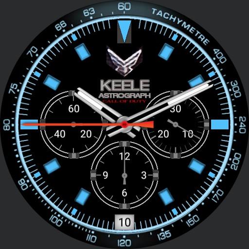 Call of Duty Modern Warfare KEELE Astrogram watch Blue
