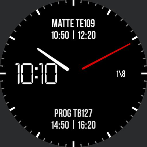 The Productive Watch Face