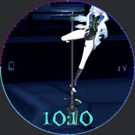 anime dancer live