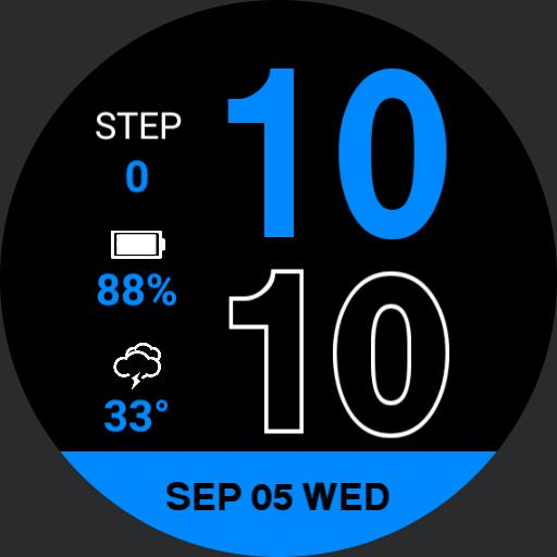 Apple Watch face V.2 By ThaiTop