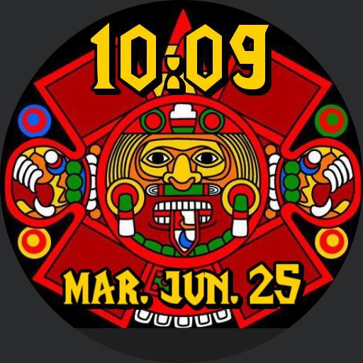 BC aztec red