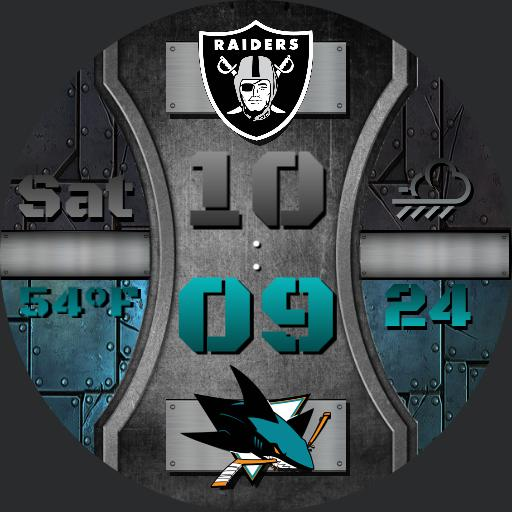 Raiders and Sharks