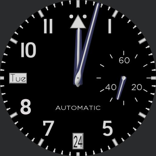 Pilots Watch for Gear S3 Classic
