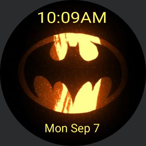 Batman fire symbol
